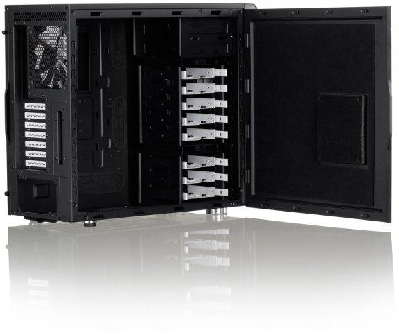 Fractal Design Define R4 Black Pearl - ATX-kotelo ilman virtalähdettä, väri musta, kuva 8