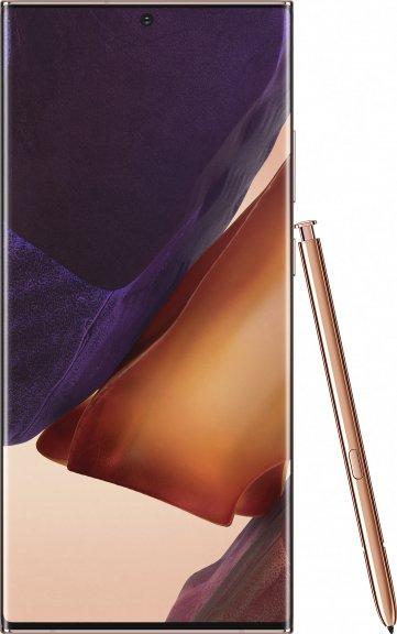 Samsung Galaxy Note 20 Ultra 5G -Android-puhelin Dual-SIM, 512 Gt, Mystic Bronze