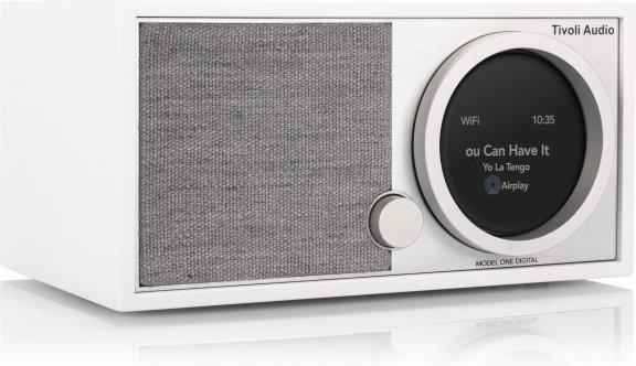 Tivoli Audio Model One Digital Generation 2 -pöytäradio, valkoinen / harmaa, kuva 3