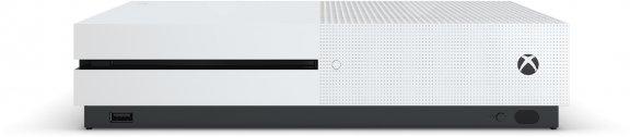 Microsoft Xbox One S 500 Gt -pelikonsoli, valkoinen, kuva 2