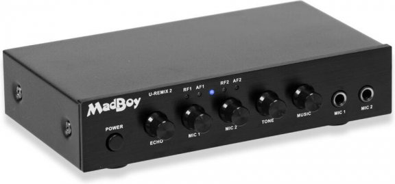 MadBoy U-Remix 2 Bluetooth -langaton karaokemikrofonipari mikserillä, kuva 3