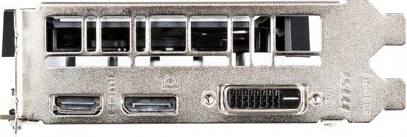 MSI GeForce GTX 1650 VENTUS XS 4G OC -näytönohjain PCI-e-väylään, kuva 3