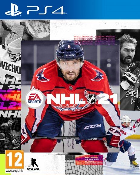 NHL 21 -peli, PS4