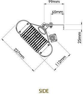 Tansun Monaco -terassilämmitin, 1,5 kW, hopea, kuva 4