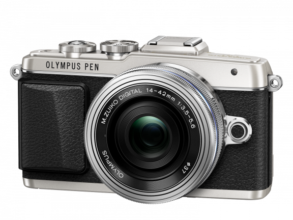 Olympus PEN E-PL7 hopea + 14-42 mm EZ objektiivi, kuva 4