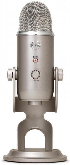 Blue Microphones Yeti -mikrofoni USB-väylään, platina, kuva 3