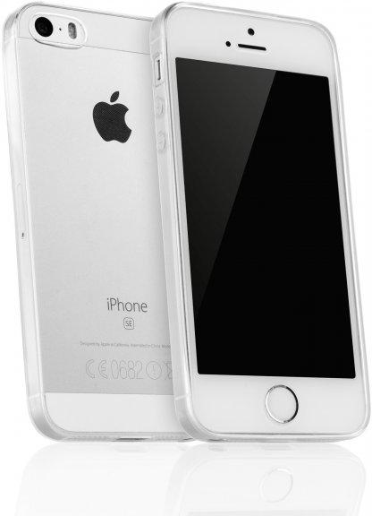 MyFoneKit silikonisuoja, iPhone SE, läpinäkyvä