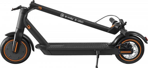 E-Way E-350 -sähköpotkulauta, musta, kuva 2