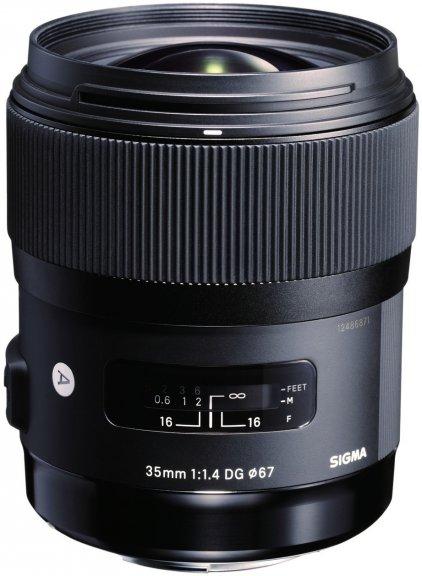Sigma 35 mm F1.4 DG HSM | A objektiivi, Nikon