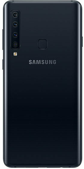 Samsung Galaxy A9 -Android-puhelin Dual-SIM, 128 Gt, musta, kuva 2