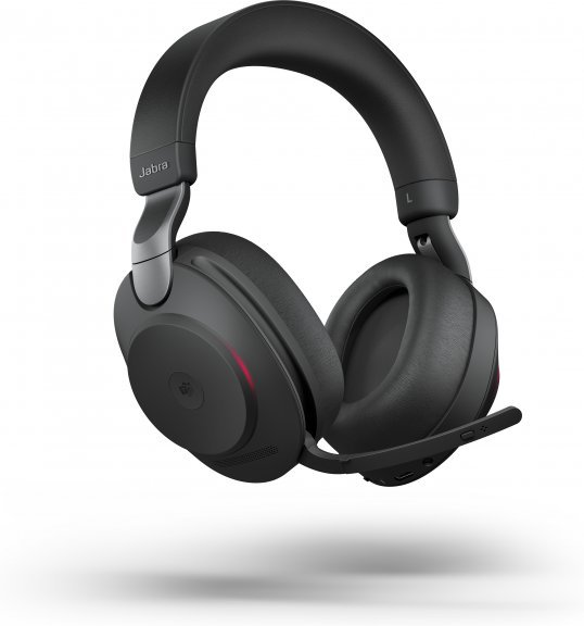 Jabra Evolve2 85 LINK380C MS -langaton headset vastamelutoiminnolla, musta