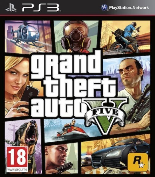 Grand Theft Auto V -peli, PS3
