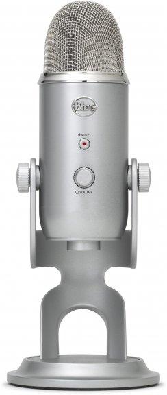 Blue Microphones Yeti -mikrofoni USB-väylään, hopea, kuva 3