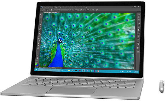 Microsoft Surface Book -kannettava, Win 10 Pro