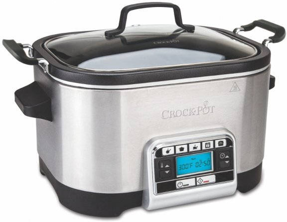 Crock-Pot -haudutuspata/Multicooker, 5.6 l,