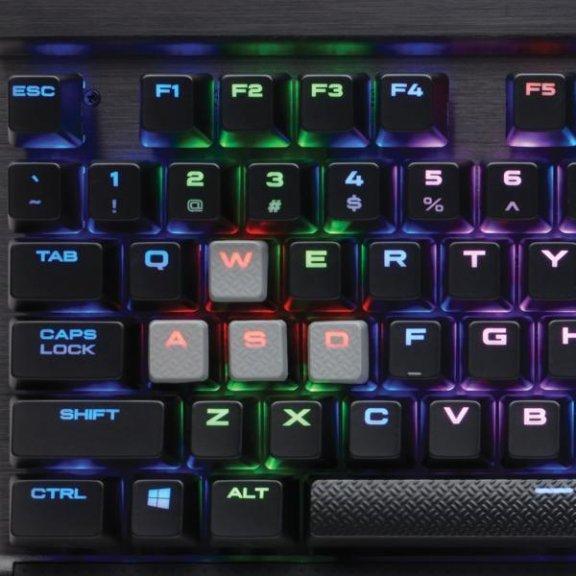 Corsair K65 RGB Rapidfire -pelinäppäimistö, Cherry MX Speed –kytkimet, moniväriset-ledit, kuva 5
