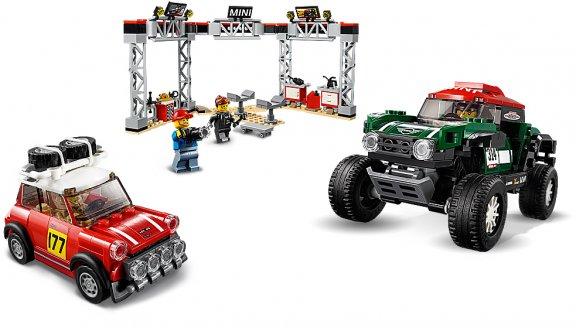LEGO Speed Champions 75894 - 1967 Mini Cooper S Rally ja 2018 MINI John Cooper Works Buggy, kuva 4