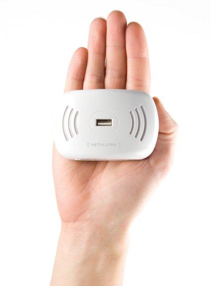 Netwjork N+3G - langaton tukiasema ja reititin 3G-tuella