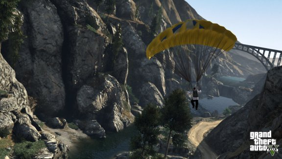 Grand Theft Auto V -peli, PS3, kuva 7