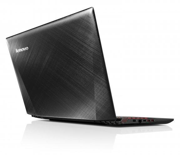 """Lenovo Y50-70 15,6"""" -kannettava, Win 8.1, musta, kuva 2"""