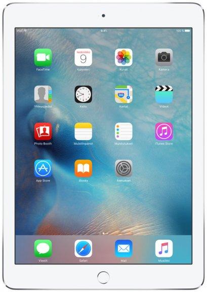 Apple iPad Air 2 16 Gt Wi-Fi -tabletti, hopea, MGLW2, kuva 2