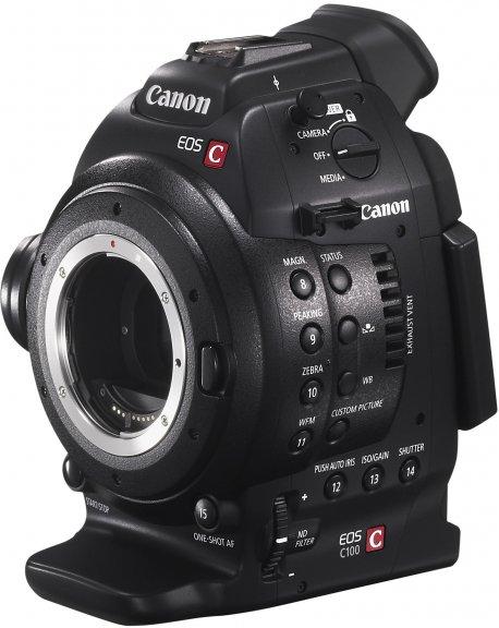 Canon EOS C100 Mark II videokamera, runko