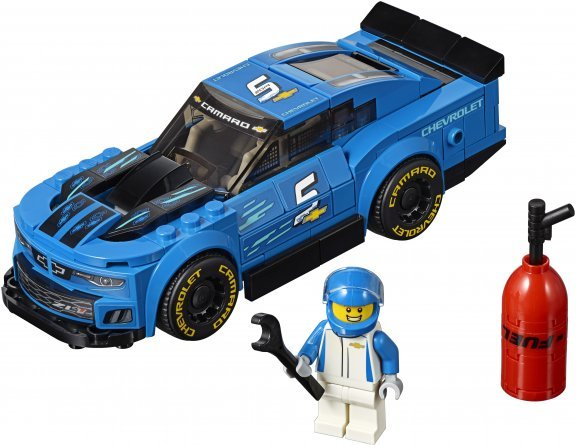 LEGO Speed Champions 75891 - Chevrolet Camaro ZL1 -kilpa-auto, kuva 3