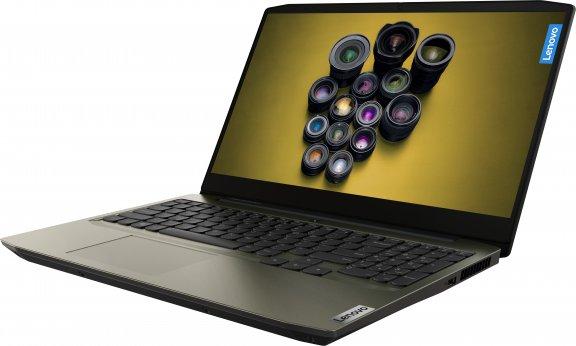 """Lenovo IdeaPad Creator 5 - 15,6"""" -kannettava, Win 10 Pro 64-bit, tummanvihreä, kuva 2"""