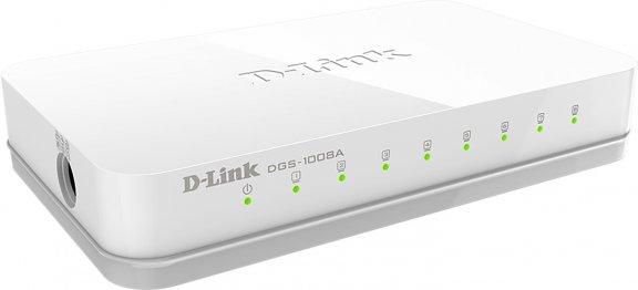 D-Link GO-SW-8G -8-porttinen kytkin, kuva 2