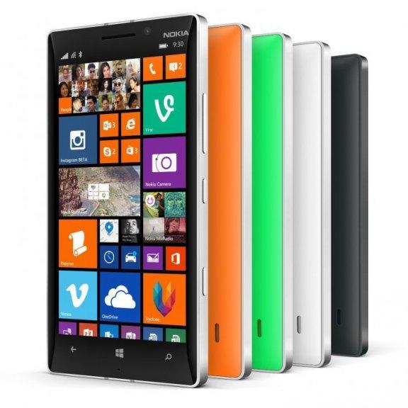 Nokia Lumia 930 Windows Phone -puhelin, oranssi