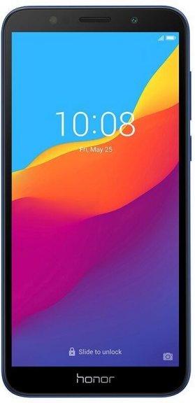 Honor 7S -Android-puhelin Dual-SIM, 16 Gt, sininen