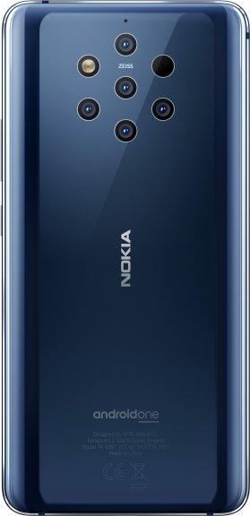 Nokia 9 PureView -Android-puhelin, sininen, kuva 3