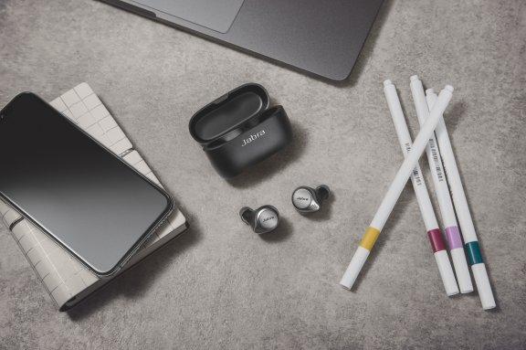 Jabra Elite 75t -Bluetooth-kuulokkeet, musta/titaani, kuva 5