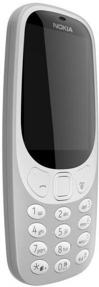 Nokia 3310 -peruspuhelin Dual-SIM, harmaa
