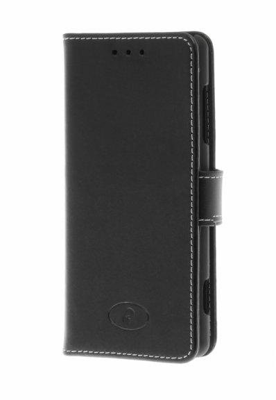 Insmat Exclusive Flip Case -lompakkokotelo, Sony Xperia XZ2 Compact, musta