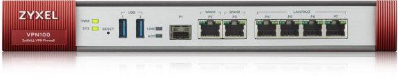 ZyXEL ZyWALL VPN100 -VPN -palomuuri, kuva 2