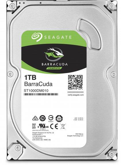 "Seagate Barracuda 1 TB 64 MB 7200 RPM 3.5"" SATA III (6 Gb/s) kovalevy"