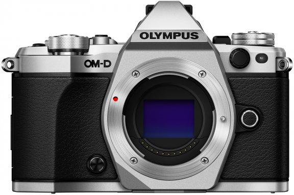 Olympus OM-D E-M5 Mark II hopea, runko