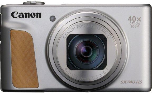 Canon Powershot SX740 HS -digikamera, hopea