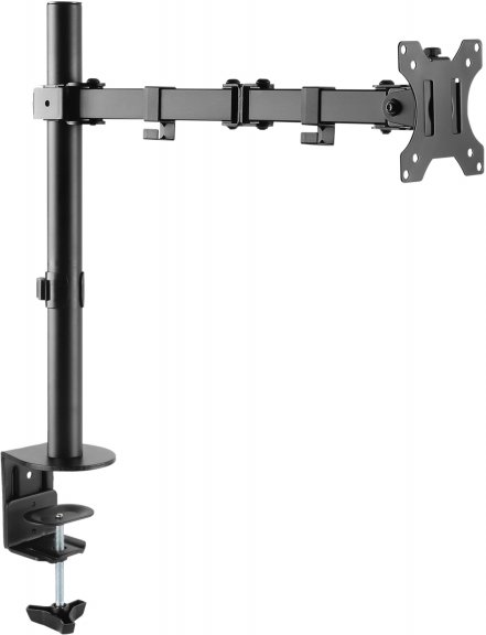Mozi Basic Stand with Dual Joint -pöytäjalka yhdelle näytölle
