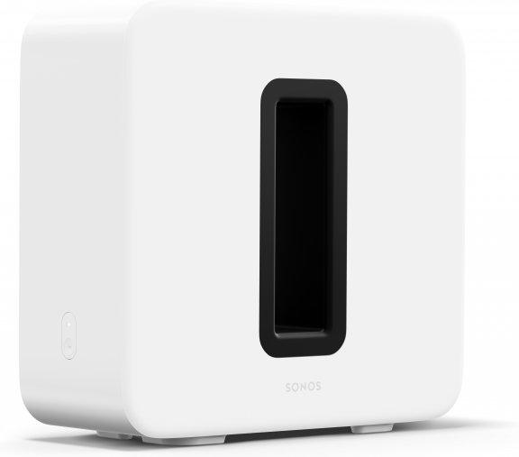 Sonos Sub -subwoofer, kiiltävä valkoinen, kuva 2