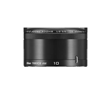Nikon 1 NIKKOR AW 10 mm f/2,8 objektiivi, musta