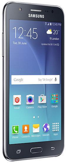 Samsung Galaxy J5 -Android-puhelin, musta, kuva 3
