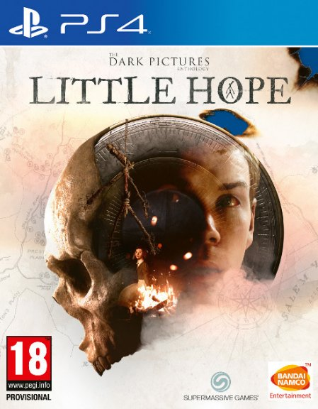 The Dark Pictures Anthology - Little Hope -peli, PS4