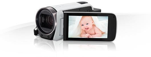 Canon LEGRIA HF R706 -videokamera, valkoinen, kuva 2