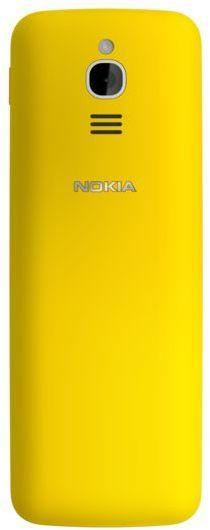 Nokia 8110 4G (2018) -peruspuhelin, keltainen, kuva 5