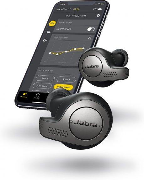 Jabra Elite 65t -Bluetooth-kuulokkeet, musta, kuva 10