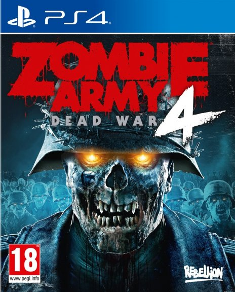 Zombie Army 4: Dead War -peli, PS4