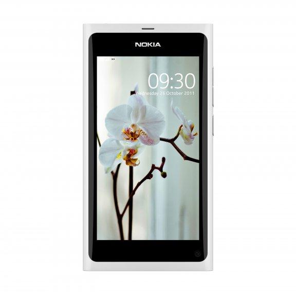 Nokia N9 älypuhelin 64GB, valkoinen, kuva 2