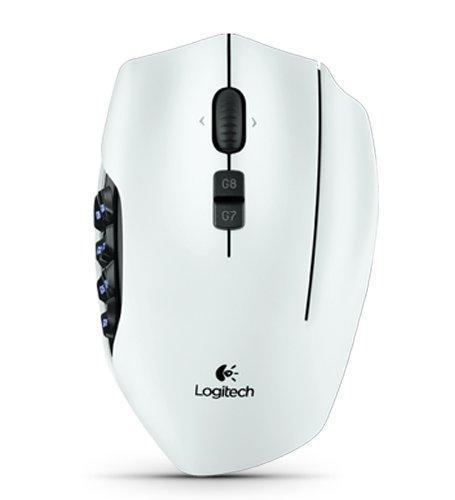 Logitech G600 -hiiri, valkoinen, kuva 2